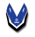 Factory Effex Front Fender Graphic Yamaha YZ125 / YZ250 / YZ250F / YZ450F 2010-2017