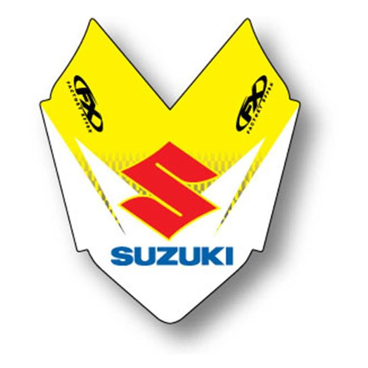 Factory Effex Front Fender Graphic Suzuki RM125 / RM250 / RMZ250 / RMZ450 2001-2009