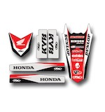 Factory Effex Trim Graphics Kit Honda CR125R / CR250R 1997-1999