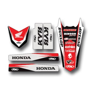 Factory Effex Trim Graphics Kit Honda CRF450R 2005-2008