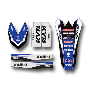 Factory Effex Trim Graphics Kit Yamaha YZ450F 2010-2013