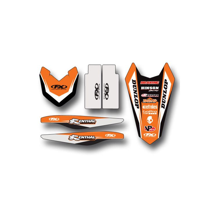 Factory Effex Trim Graphics Kit KTM SX / SX-F 125cc-450cc 2011-2012