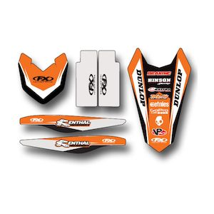 Factory Effex Trim Graphics Kit KTM SX / SX-F 125cc-450cc 2016-2018