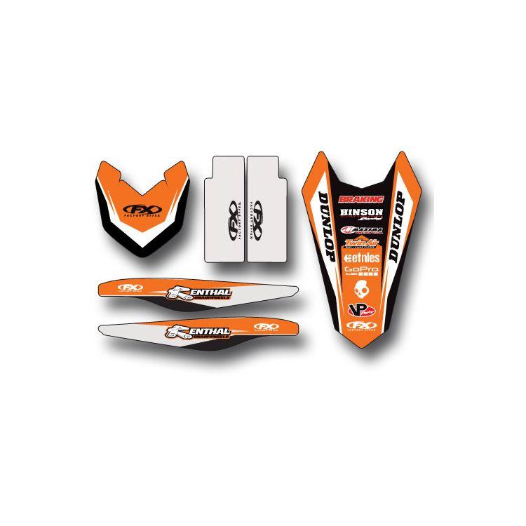 Factory Effex Trim Graphics Kit KTM SX / SX-F 125cc-450cc 2016-2018