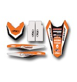 Factory Effex Trim Graphics Kit KTM SX / SX-F 125cc-450cc 2016-2017
