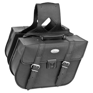 River Road Quest Classic Slanted Saddlebags