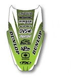 Factory Effex Rear Fender Graphic Kawasaki KX80 / KX85 / KX100 1990-2013
