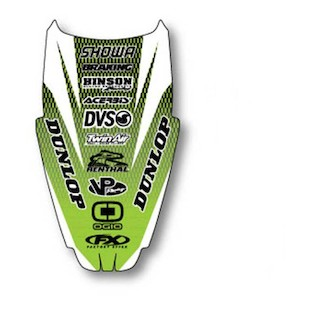 Factory Effex Rear Fender Graphic Kawasaki KX250F / KX450F 2009-2012