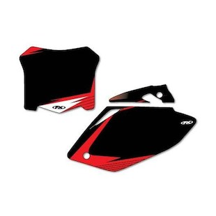 Factory Effex Graphic Number Plate Backgrounds Honda CRF450R 2005-2006