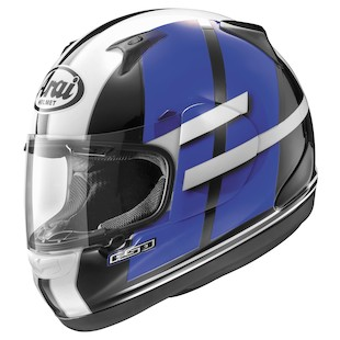 Arai RX-Q Conflict Helmet Blue / LG [Blemished - Very Good]