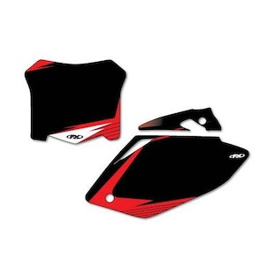 Factory Effex Graphic Number Plate Backgrounds Honda CRF250R / CRF450R 2013-2017