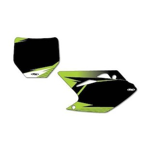 Factory Effex Graphic Number Plate Backgrounds Kawasaki KX450F 2006-2008
