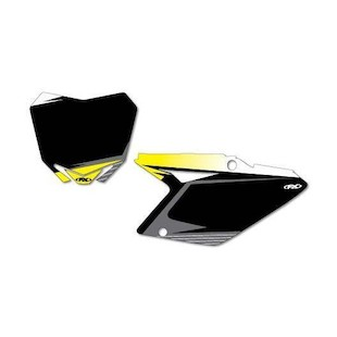 Factory Effex Graphic Number Plate Backgrounds Suzuki RMZ 450 2008-2017