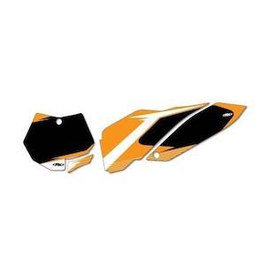 Factory Effex Graphic Number Plate Backgrounds KTM SX / XC 125cc-450cc 2011-2012