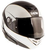 LaZer Monaco Window Pure Carbon Helmet Carbon/Metallic White/Gold / XS [Demo - Good]
