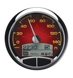 """Medallion Classic 5"""" Console Speedo Gauge For Harley"""