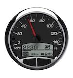 "Medallion Racing 5"" Console Speedo Gauge For Harley"