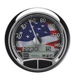 "Medallion USA 5"" Console Speedo Gauge For Harley"