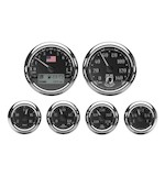 Medallion POW Bagger Gauge Kit For Harley Touring 2004-2013