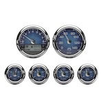 Medallion Classic Bagger Gauge Kit For Harley Touring 2000-2003