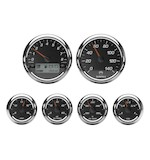 Medallion Racing Bagger Gauge Kit For Harley Touring 2000-2003