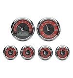 Medallion Tradition Bagger Gauge Kit For Harley Touring