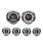 Medallion Sundown Bagger Gauge Kit For Harley Touring