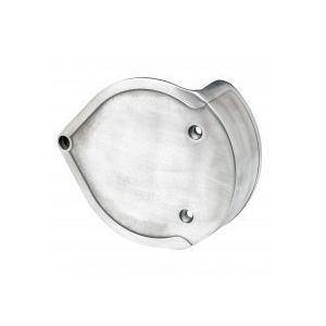Lowbrow Customs Smooth Air Cleaner Intake Cover For Harley S&S Super E / G Carb