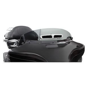 Ciro Panoramic Vented Windshield For Harley Touring 1996-2013