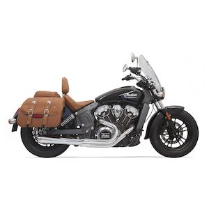 Bassani 2-Into-1 Exhaust For Indian Scout 2015-2018