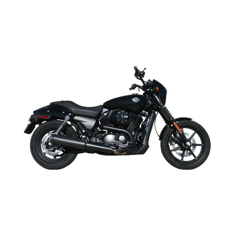 "Firebrand Exhaust 4"" Loose Cannon Slip-On Muffler For Harley Street 2015-2018"