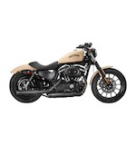 "Firebrand Exhaust 3"" Loose Cannon Slip-On Muffler For Harley Sportster 2014-2017"
