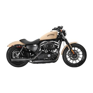 "Firebrand Exhaust 3"" Loose Cannon Slip-On Muffler For Harley Sportster 2004-2013"