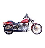 """Firebrand Exhaust 3"""" Loose Cannon Slip-On Muffler For Harley Softail 2007-2017"""