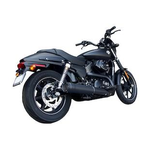 """Firebrand Exhaust 4"""" Grand Prix Slip-On Muffler For Harley Street 2015-2018"""
