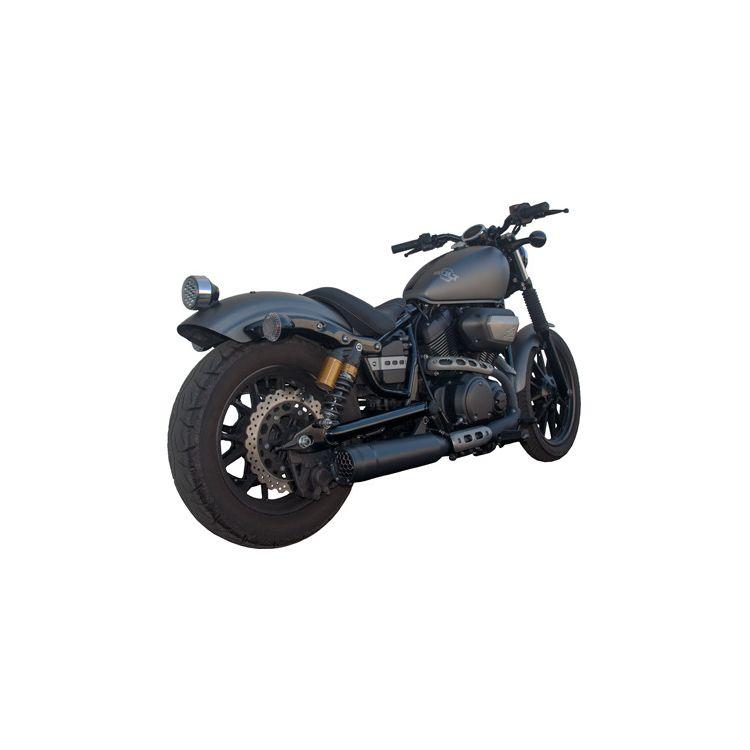 "Firebrand Exhaust 4"" Grand Prix Slip-On Muffler For Yamaha Bolt 2014-2019"