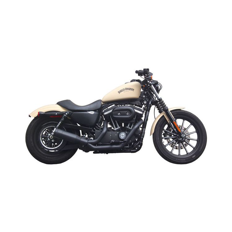 Firebrand Exhaust Fiftytwo52 2-Into-1 For Harley Sportster 2004-2015