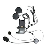 Sena SMH-10 Helmet Clamp Kit For Speakers And Earbuds With Attachable Boom & Wired Microphone [Open Box]