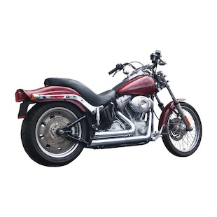 Firebrand Exhaust Upstarts 2-Into-2 For Harley Softail 2007-2017