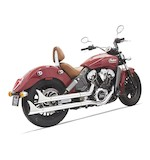 Bassani Fishtail Slip On Mufflers For Indian Scout 2015-2016