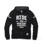 100% Flat Track Fleece Hoody