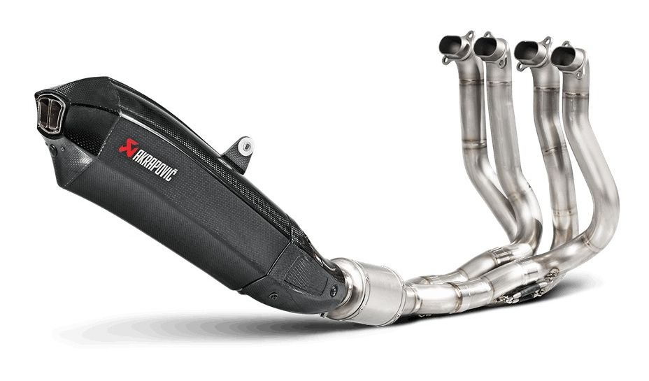 Akrapovic Evolution Exhaust System Kawasaki H2 H2R 2015 2018