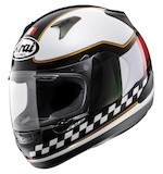 Arai RX-Q Italy Flag Helmet 2013 White/Black / LG [Blemished - Very Good]