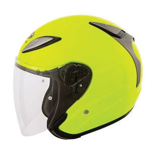 Kabuto Avand 2 Helmet Flash Yellow / LG [Blemished - Very Good]