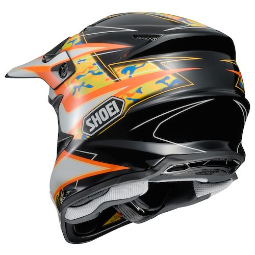 shoei vfx w turmoil helmet revzilla. Black Bedroom Furniture Sets. Home Design Ideas