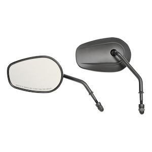 Drag Specialties Teardrop OEM Style Mirrors For Harley