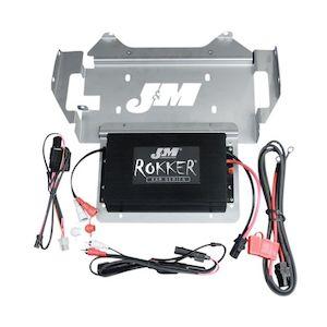 J&M Rokker 330W XXR Amp Kit For Harley Touring 2014-2016