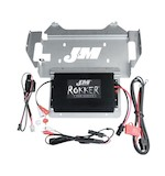 J&M Rokker 330W XXR Amp Kit For Harley Touring 2014-2015