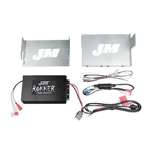 J&M Rokker 330W XXR Amp Kit For Harley Touring 2006-2013