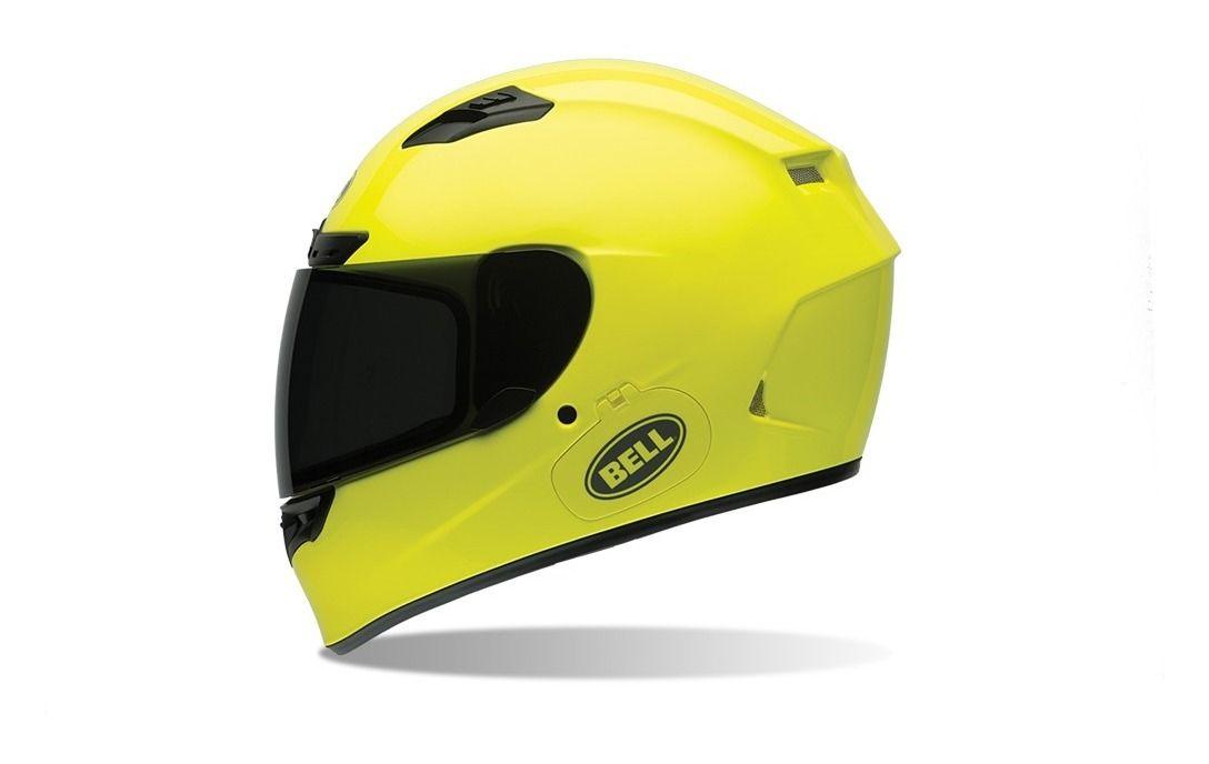 Bell Qualifier Dlx >> Bell Qualifier DLX Hi-Vis Helmet - RevZilla